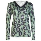 Panter-Shirt-Dames-Legergroen