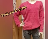 BLUE-SEVEN-Pullover-Dames-Pink,-maat-M