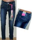 ChiLong-Jeans-Meisjes-Grijs-Maat-170/176