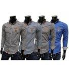 MGM-Overhemd-Heren-Bruin