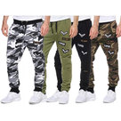 Sweatbroek-Army-Style-Heren-Zwart