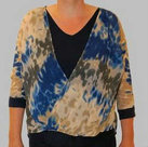 Shirt-Dames-Blue-Seven-Blauw