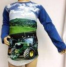Shirt-Trekker-(JOHN-DEERE)-Jongens-blauw,-maat-92