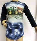 Shirt-Trekker-(JOHN-DEERE)-Jongens-Donkerblauw,-maat-92