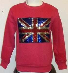 Sweater Jongens Rood