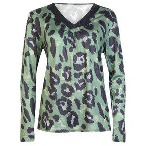 Panter Shirt Dames Legergroen