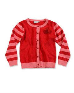 Blue Seven Vest Meisjes Rood/Roze Maat 98