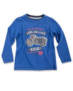 Blue Seven Shirt Jongens Blauw Maat 98