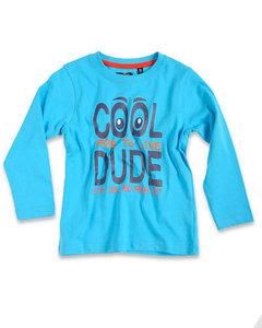 Blue Seven Shirt Jongens Blauw
