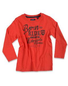 Blue Seven Shirt Jongens Rood