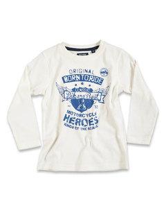 Blue Seven Shirt Jongens Gebroken Wit