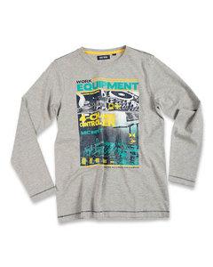 Blue Seven Shirt Jongens Grijs, maat 152