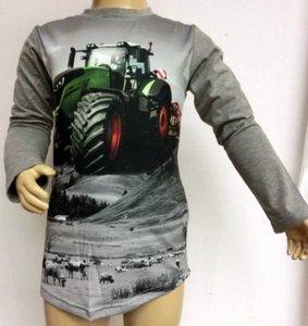 Shirt Trekker (FENDT) Jongens Grijs